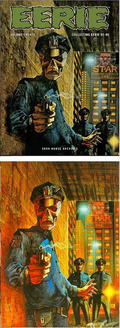 PATRICK WOODROFFE - Eerie Archives #20 - Oct 2015 Dark Horse Comics