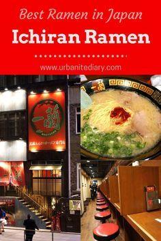 The Best Ramen in Japan (Or Even In The World!) – Ichiran Ramen