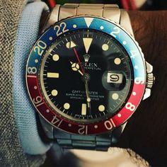 The 1675 #Rolex #thewatchobserver #vintagerolex #instagood #instawatches #picoftheday #watches #watchporn