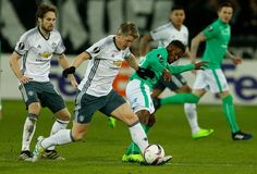 Manchester United's Bastian Schweinsteiger in action