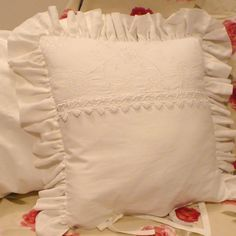 pillow, shabby, vintage