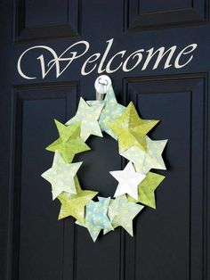 Summer 3-D Star Wreath - Gluesticks