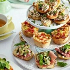 ideas for keto brunch party food Tapas, Tee Sandwiches, Western Food, Snacks Für Party, High Tea, Saveur, I Love Food, Afternoon Tea, Appetizer Recipes