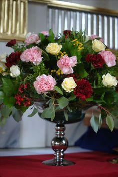 dekoracje ślubne,kościół