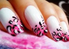 These colors seem to go really good together, don't you think? If you want your nails to be in style, you just have to take a look at this collection of the best nail designs, made by various people. You can wear black, white or pink clothing to match your wild nails!