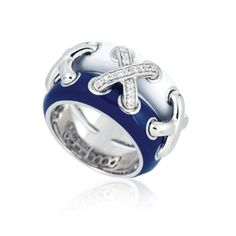 "Belle Etoile ""Maille"" Blue Ring!"