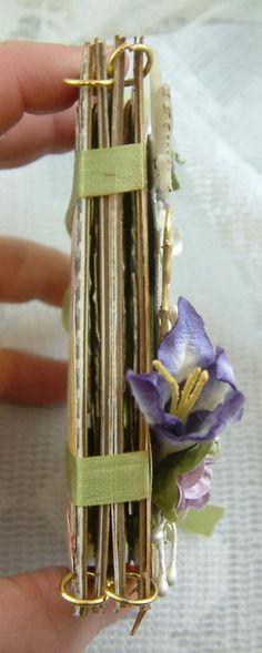 Artfully Musing: Language of Flowers ATC Book
