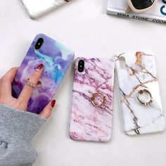 Vintage Marble Case with Ring Holder - Cell Phone Ring Stand - Ideas of Cell Phone Ring Stand - Vintage Marble Case with Ring Holder YoCasify Iphone Holder, Cell Phone Holder, Cool Phone Cases, Iphone Cases, Iphone 8, Phone Covers, Marble Case, Coque Iphone, Iphone Models