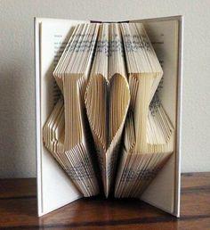 13 ways to repurpose books