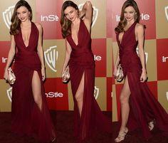 Miranda Kerr 2013 Golden Globes. I love her dress!
