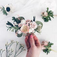 Peigne de mariée fleur postiche mariée peigne à cheveux