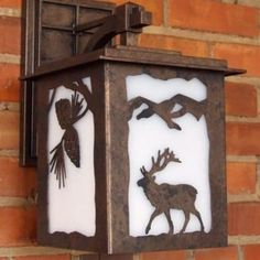 Copper Canyon L12 Lodge and Cabin Lantern #RusticLighting #OutdoorLighting