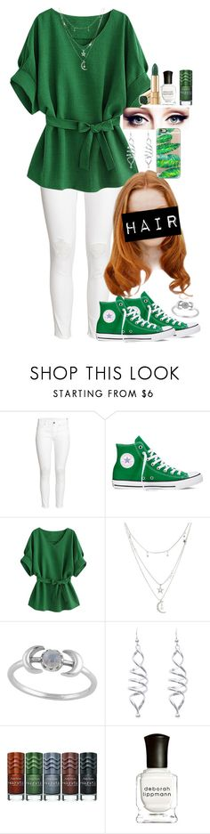 """Wow I totally forgot I made this!"" by the-foxes ❤ liked on Polyvore featuring H&M, Converse, Charlotte Russe, Sally Hansen, Deborah Lippmann and Casetify"
