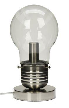 Lightbulb lamp, £29.99.  @TKMaxx_UK #MaxxMyWishlist