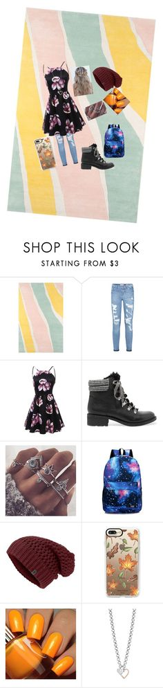 """""""fall wear"""" by rocker-and-directioner ❤ liked on Polyvore featuring Novogratz Collection, Sam Edelman, Casetify, Floss Gloss and GUESS"""
