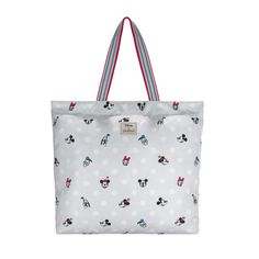 Mickey and Friends Button Spot Large Foldaway Tote | Shop | CathKidston