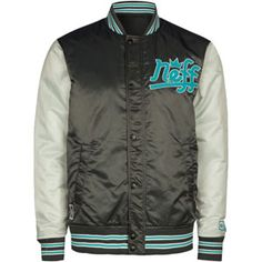 neff brookie mens letterman jacket