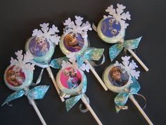 Frozen Inspired Princess Elsa Party Favors 6 by MesBellesSoeurs