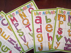 magnetic letter FREEBIE!!!