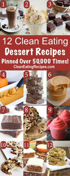 Best Clean Eating Dessert Recipes Best Clean Eating Recipes