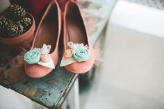 Cute! Dress them up with a cute frock, or keep it casual with jeans and a white T-shirt. I'll take the latter...