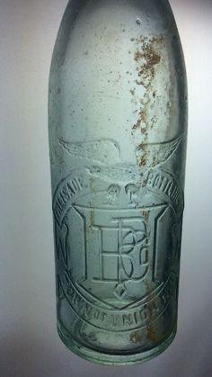 Palisade Bottling Company Bottle Town of Union New Jersey NJ Antique Vintage