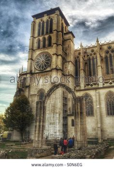 Download this stock image: Saint Paul church Lyon France - S0N6EG from Alamy's library
