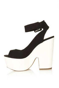 Chaussures plateforme avec bride STAR