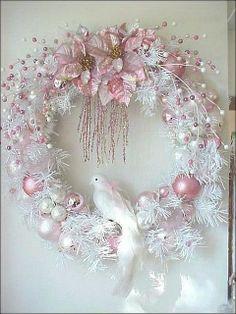 shabby Christmas wreath