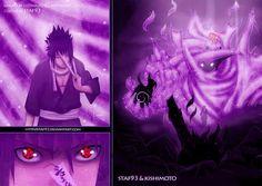 sasuke's mangeyko sharingan and sussano