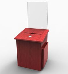 Comment Collection Suggestion Box Donation Charity Box Ballot Sign Holder 11571 #Fixturedisplays