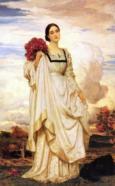 Lord Frederick Leighton Paintings | LFR 009 / Lord Frederick LEIGHTON / The Countess Brownlow