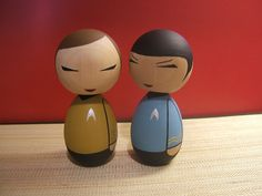 Star Trek Kokeshis