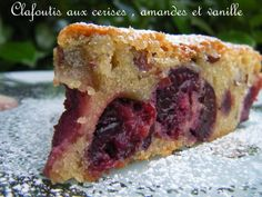 Le Clafoutis aux cerises de Cyril Lignac | Nana et Chocolat Bon Dessert, Cheesesteak, Food Inspiration, Biscuits, Cheesecake, Good Food, Food And Drink, Menu, Cooking