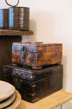 lots of beautiful antiques available at deVOL's Cotes Mill home