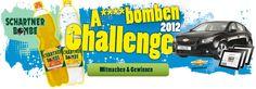 A****bomben Challenge 2012 von SCHARTNER BOMBE || Programmierung mit Video-Upload und großem Foto- und Videovotingtool umgesetzt || Fanzahlenzuwachs von 3.000 auf über 23.000 || Über 500 Einreichungen || auch mobil aufrufbar Videos, Nerf, Challenges
