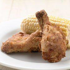 Crispy Fried Chicken – yes, you can use whole wheat in your favorite chicken breading!