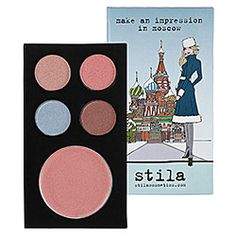Stila Moscow Travel Palette at Sephora - I love these new travel palettes! Easy to travel with and everything you need!