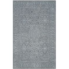 Bungalow Rose Samaniego Hand-Tufted Opal/Gray Area Rug Rug Size: 8' x 10'
