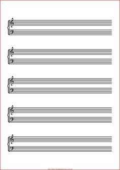 Pentagrama Musical Para Piano