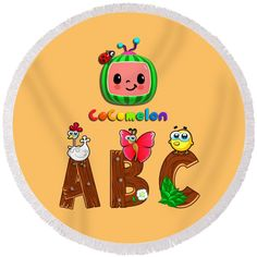Text Design, Logo Design, Cartoon Design, Kids Songs, Nursery Rhymes, Beach Towel, Cartoon Characters, Fine Art America, Plush