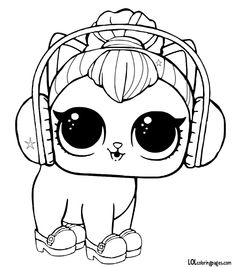 93 Best Lol Dolls Coloring Pages Images Coloring Books Coloring