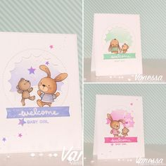 Snuggle Bunnies: MFT, critter sketch, baby, Vanessa Amann