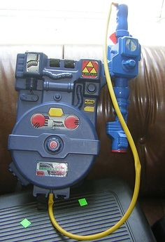 Ghostbusters Proton Pack toy by animakitty, via Flickr.  Had one of these when I was a little boy.