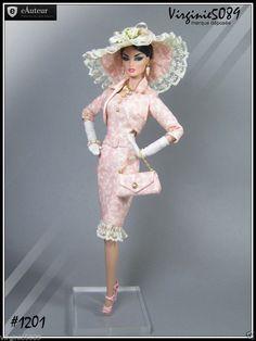 Tenue Outfit Accessoires Pour Fashion Royalty Barbie Silkstone Vintage 1201 | eBay