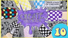 Create This Book Episode (Moriah Elizabeth) Painting Vans, Drawing with my Left Hand and more! Draw With Jazza, Sketchbook App, Create This Book, Painted Vans, Art Journal Prompts, Drawing Prompt, Acrylic Paint Set, Chip And Dale, Wreck This Journal