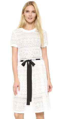 ENGLISH FACTORY Lace Tie Dress   SHOPBOP