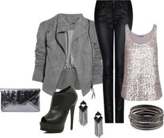 """""""sequins for a night out"""" by dianacnyc on Polyvore"""