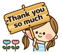 Phrases that cute girls often use. Use them in your normal day-to-day conversations with family and friends. Thank You Qoutes, Thank You Quotes Gratitude, Thank You Wishes, Thank You Images, Thank You Messages, Thanks Gif, Thanks Card, Give Thanks, Cute Cartoon Pictures