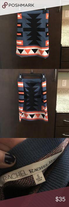 Rachel Roy fitted skirt Form fitting skirt! Super comfy material. Never worn. RACHEL Rachel Roy Skirts Pencil